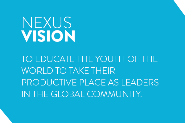 To educate the youth of the world to take their productive place as leaders in the global community
